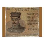 Guardia del ojo de Warren del vintage Postal