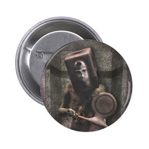 Guardia del zombi - botón de Halloween Pins