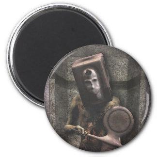 Guardia del zombi - imán de Halloween