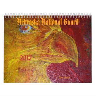 Guardia Nacional 2012 de Nebraska Calendarios De Pared