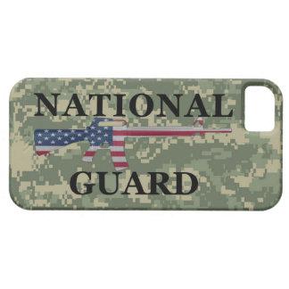 Guardia Nacional Camo verde del iPhone 5 Funda Para iPhone SE/5/5s