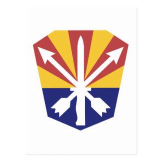 Guardia Nacional de Arizona Tarjeta Postal