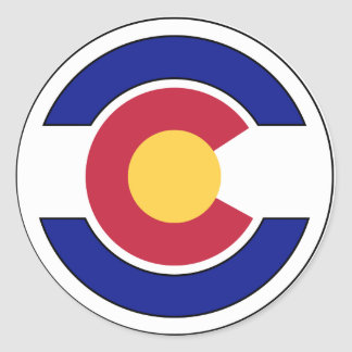 Guardia Nacional de Colorado Pegatina Redonda