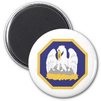 Guardia Nacional de Luisiana Imán Redondo 5 Cm