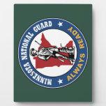Guardia Nacional de Minnesota Placas Con Foto