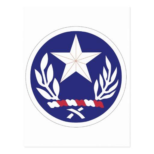 Guardia Nacional de Tejas Tarjeta Postal