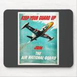 Guardia Nacional del aire Alfombrillas De Ratón