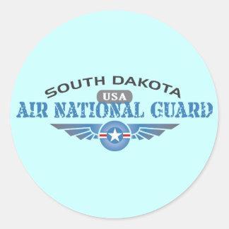 Guardia Nacional del aire de Dakota del Sur Pegatina Redonda