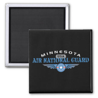 Guardia Nacional del aire de Minnesota Imán Cuadrado