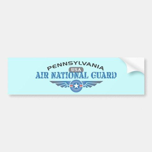 Guardia Nacional del aire de Pennsylvania Pegatina De Parachoque