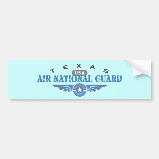 Guardia Nacional del aire de Tejas Pegatina Para Auto