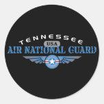 Guardia Nacional del aire de Tennessee Pegatina Redonda