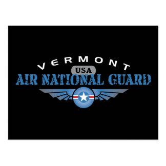 Guardia Nacional del aire de Vermont Tarjeta Postal