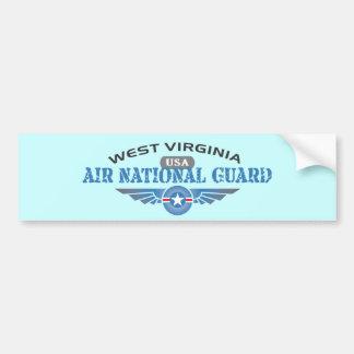 Guardia Nacional del aire de Virginia Occidental Pegatina De Parachoque