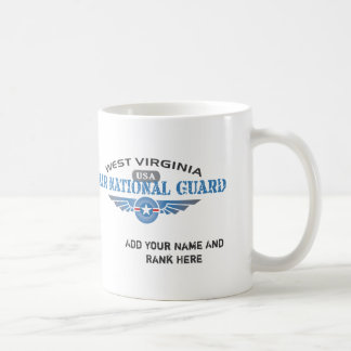 Guardia Nacional del aire de Virginia Occidental Taza De Café