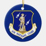 Guardia Nacional del aire Ornamentos De Navidad