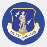 Guardia Nacional del aire Pegatina Redonda