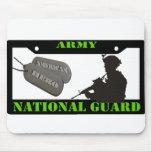 Guardia Nacional Mousepad del ejército Alfombrillas De Ratón
