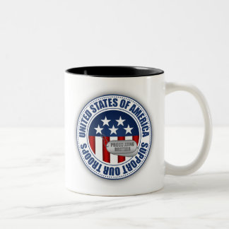 Guardia Nacional orgulloso Brother del ejército Tazas De Café