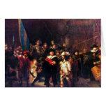 Guardia nocturna de Rembrandt Harmenszoon van Rijn Felicitación