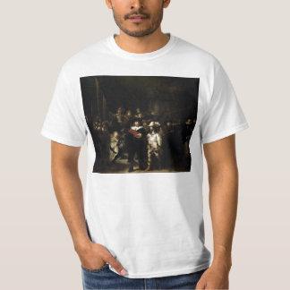 Guardia nocturna de Rembrandt Playera