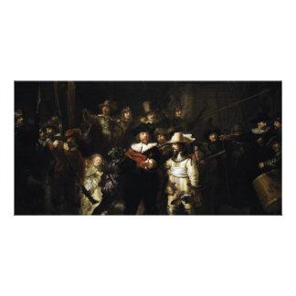 Guardia nocturna de Rembrandt Tarjetas Fotográficas