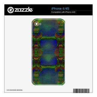 Guardia psicodélico iPhone 4S skins