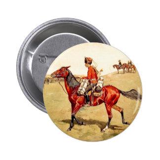 Guardia ruso pin redondo 5 cm