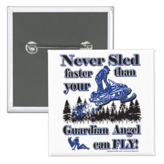 Guardian-Angel 2 Inch Square Button