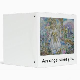 Guardian angel, An angel saves you. Vinyl Binders