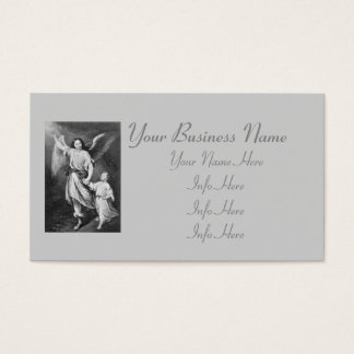 Guardian Angel And Child Business Card
