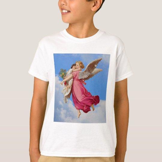 Guardian Angel And Child Girls Shirt