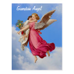 Guardian Angel And Child Inspirational Postcard