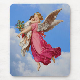 Guardian Angel And Child Mousepad