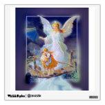Guardian Angel and Children Wall Sticker