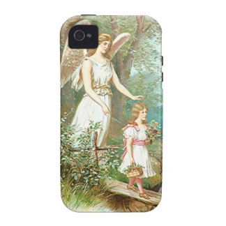 Guardian Angel And Girl Case-Mate iPhone 4 Case