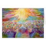 """Guardian"" Angel Art Card"