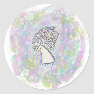 Guardian Angel Art Custom Decal Stickers