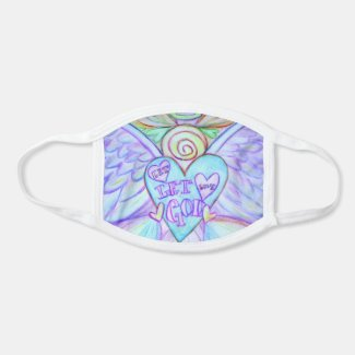 Guardian Angel Art Custom Design Face Mask