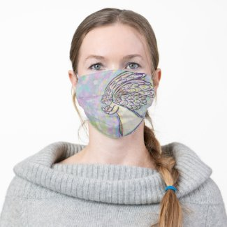 Guardian Angel Art Custom Design Face Masks