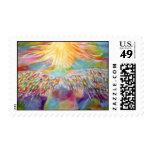 """Guardian"" Angel Art Postage Stamp"
