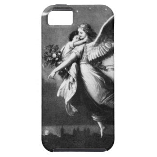 Guardian Angel At Night iPhone SE/5/5s Case