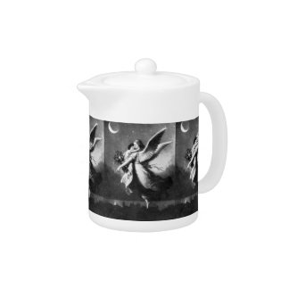 Guardian Angel At Night Teapot