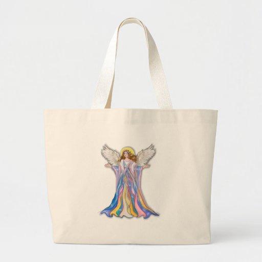 Guardian Angel Blessing Jumbo Tote Bag