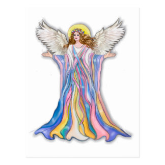 Guardian Angel Blessing Post Card