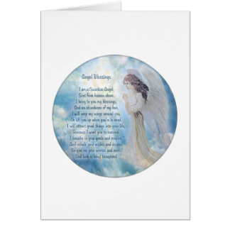 Guardian Angel Blessings Cards
