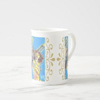 Guardian Angel Bone China Tea Cup