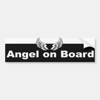 Guardian Angel Car Bumper Sticker