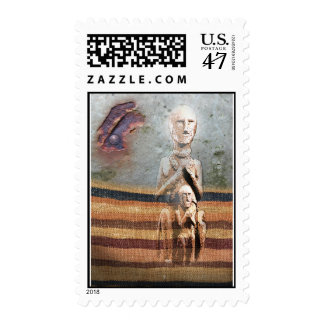 Guardian Angel by Gregory Gallo Postage