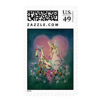 GUARDIAN ANGEL by SHARON SHARPE Postage Stamps